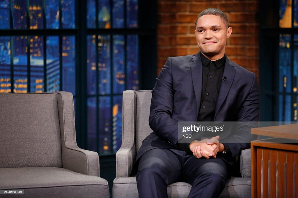 "NBC's ""Late Night With Seth Meyers"" With Guests Trevor Noah, David Cross, X Ambassadors"