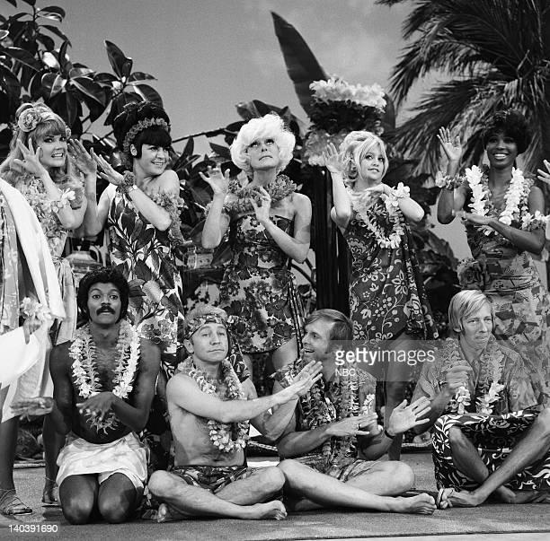 Pamela Rodgers Jo Anne Worley Carol Channing Goldie Hawn Teresa Graves Byron Gilliam Henry Gibson Alan Sues Jeremy Lloyd Photo by NBC/NBCU Photo Bank