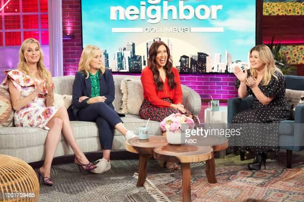 Rebecca Romijn Amy Poehler Brittany Sinitch Kelly Clarkson
