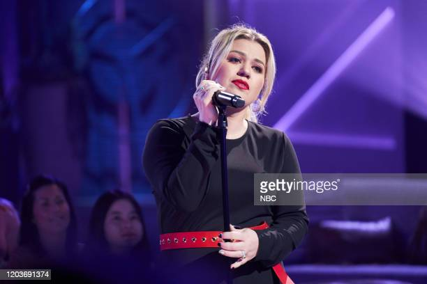 Episode 3114 -- Pictured: Kelly Clarkson --