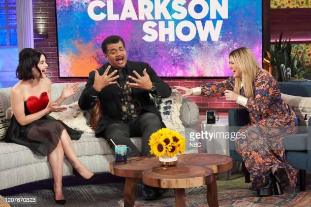 Episode 3118 -- Pictured: Lucy Hale, Neil deGrasse Tyson, Kelly Clarkson --