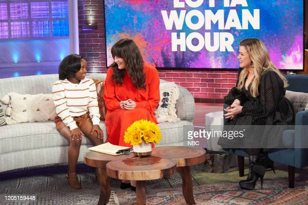 Episode 3121 -- Pictured: Ani'yah Cotton, Liv Tyler, Kelly Clarkson--
