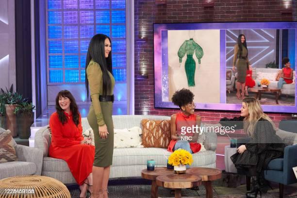 Episode 3121 -- Pictured: Liv Tyler, Kimora Lee Simmons, Skylar Johnson, Kelly Clarkson --
