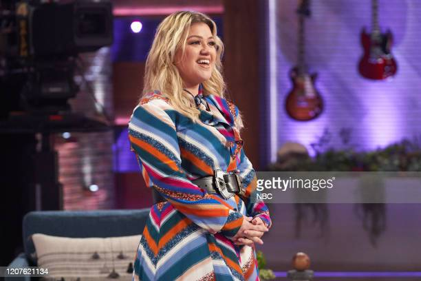 Episode 3125 -- Pictured: Kelly Clarkson --