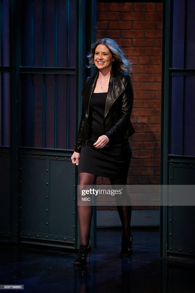 "NBC's ""Late Night With Seth Meyers"" With Guests James Spader, Jenna Fischer, Gad Elmaleh"