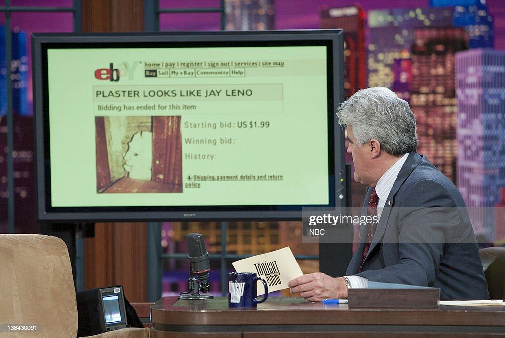 Host Jay Leno during