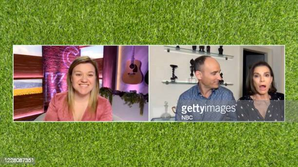 Episode 3180 -- Pictured in this screen grab: Kelly Clarkson, David Visentin, Hilary Farr --