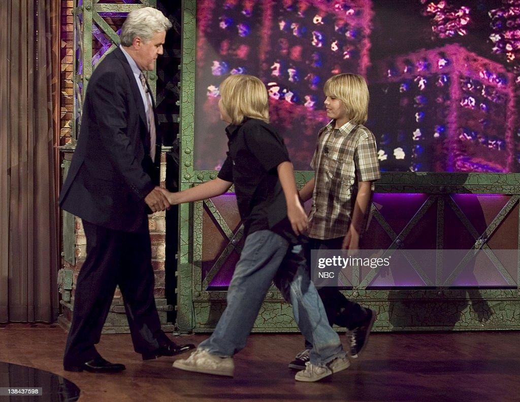 The Tonight Show with Jay Leno : News Photo
