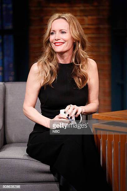 Actress Leslie Mann during an interview on February 5 2016