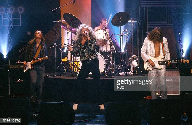 Musical guest Robert Plant performs on October 13 1993