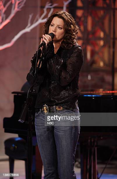 Episode 3236 -- Pictured: Singer Sara McLachlan performs on October 18, 2006