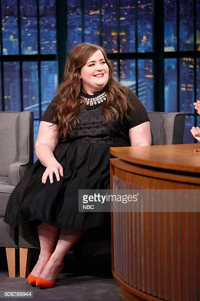 Comedian Aidy Bryant during an interview on February 9 2016