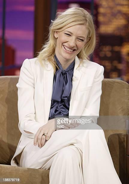 Actress Cate Blanchett during an interview on December 4 2006