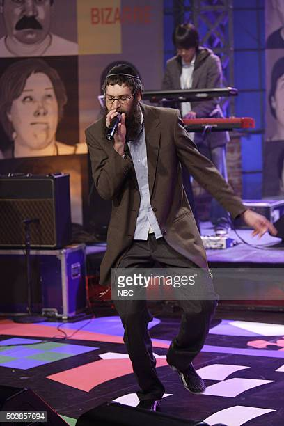 Musical guest Matisyahu performs on January 3 2007