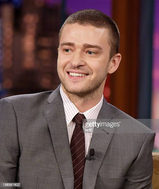 Singer/actor Justin Timberlake during an interview on January 3 2007