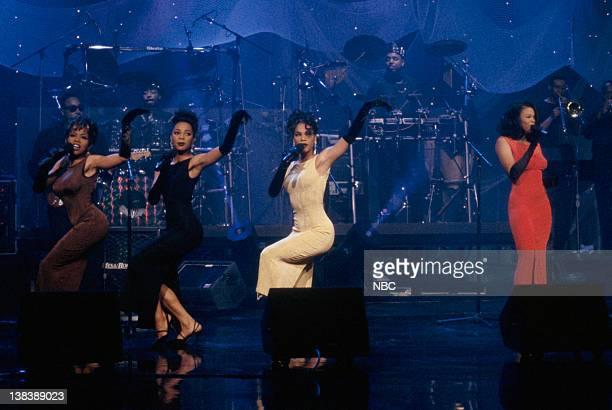 Musical guests En Vogue perform on July 8 1992