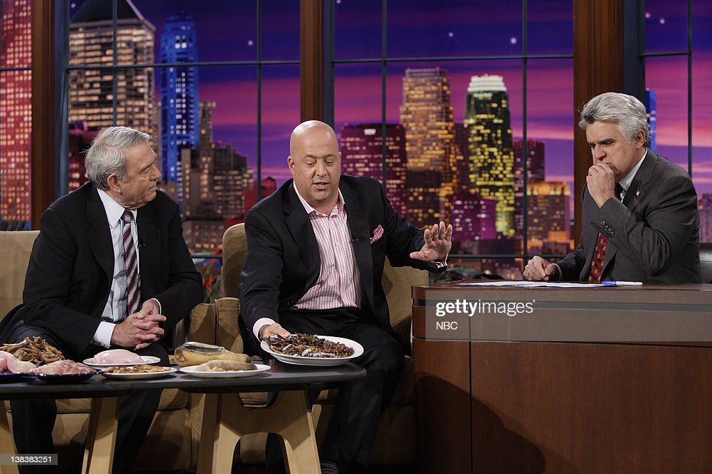former cbs evening news anchor dan rather and bizarre foods with