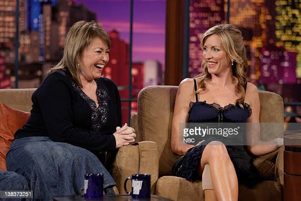 Actress Roseanne Barr and Heather Mills currently on the reality show Dancing with the Stars and Sir Paul McCartney's wife during an interview on...