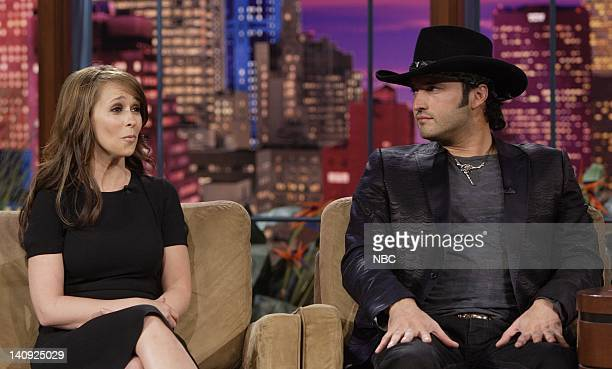 Actress Jennifer Love Hewitt and Director Robert Rodriquez during an interview on April 4 2007 Photo by Paul Drinkwater/NBCU Photo Bank