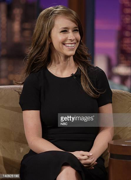 Actress Jennifer Love Hewitt during an interview on April 4 2007 Photo by Paul Drinkwater/NBCU Photo Bank