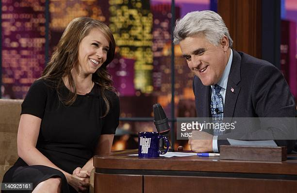 Actress Jennifer Love Hewitt during an interview with host Jay Leno on April 4 2007 Photo by Paul Drinkwater/NBCU Photo Bank
