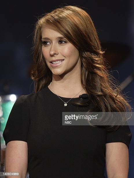 Actress Jennifer Love Hewitt on April 4 2007 Photo by Paul Drinkwater/NBCU Photo Bank