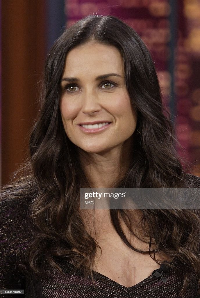 Actress Demi Moore during an interview on May 22, 2007 -- Photo by: Dave Bjerke/NBCU Photo Bank