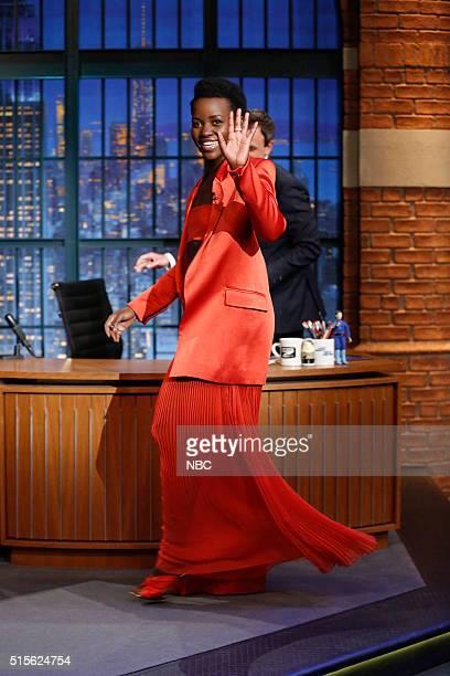 Actress Lupita Nyong'o arrives on March 14 2016