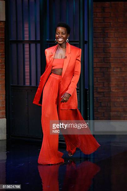 Actress Lupita Nyong'o arrives on March 14 2016