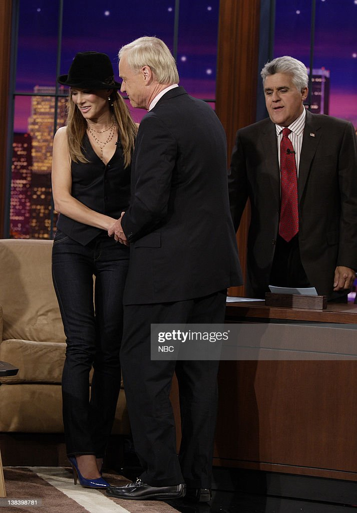 Actress Sandra Bullock, news anchor Chris Matthews and host