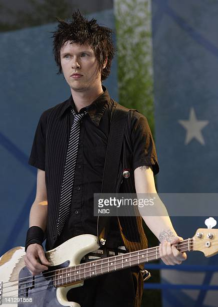Episode 3409 -- Pictured: Musical guest Sum 41 performs as part of the Toyota Concert Series on July 24, 2007 -- Photo by: Paul Drinkwater/NBCU Photo...