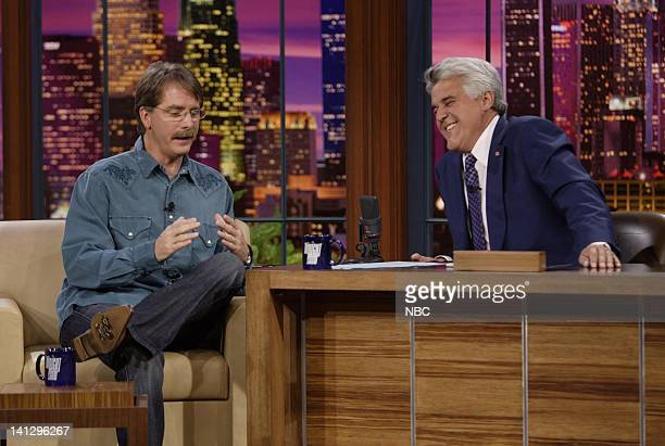 Actor Jeff Foxworthy during an interview with host Jay Leno on August 29 2007 Photo by Paul Drinkwater/NBCU Photo Bank