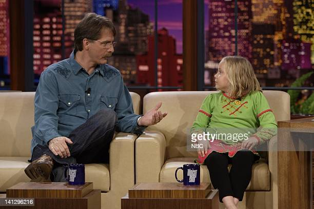 Actors Jeff Foxworthy and Maria Lark during an interview on August 29 2007 Photo by Paul Drinkwater/NBCU Photo Bank