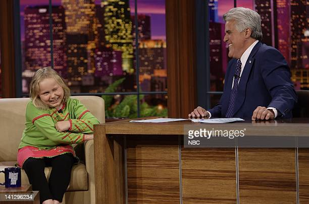 Actress Maria Lark during an interview with host Jay Leno on August 29 2007 Photo by Paul Drinkwater/NBCU Photo Bank