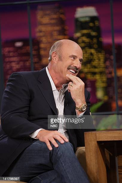 Episode 3431 -- Pictured: Talk show host Dr. Phil McGraw during an interview on September 7, 2007 -- Photo by: Margaret Norton/NBCU Photo Bank