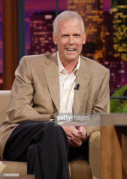 Episode 3445 -- Pictured: Former White House Press Secretary Tony Snow during an interview on September 27, 2007