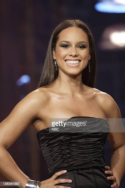 Musical guest Alicia Keys on October 12 2007