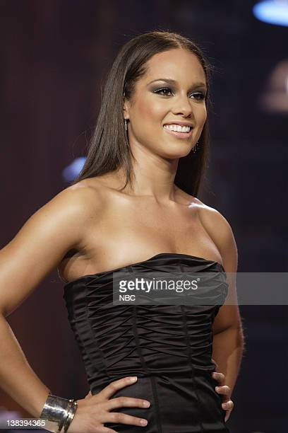 Musical guest Alicia Keys on October 12 2007