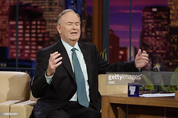 Episode 3456 -- Pictured: Political commentator Bill O'Reilly during an interview on October 12, 2007