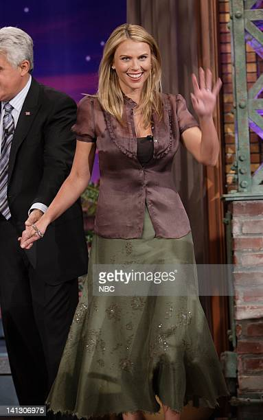 Lara Logan of CBS News arrives on October 15 2007 Photo by Margaret Norton/NBCU Photo Bank