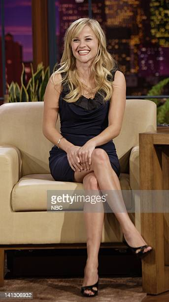 Actress Reese Witherspoon during an interview on October 16 2007 Photo by Dave Bjerke/NBCU Photo Bank
