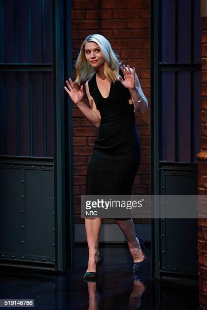 Actress Claire Danes arrives on April 4 2016