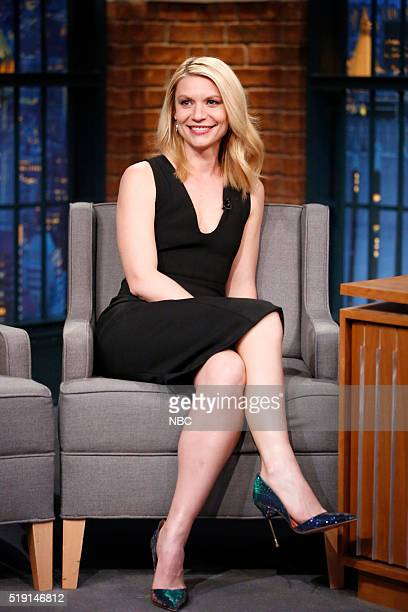 Actress Claire Danes during an interview on April 4 2016