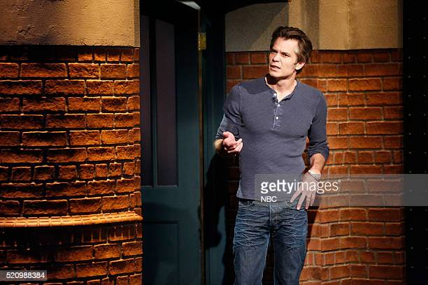 Actor Timothy Olyphant during a sketch on April 13 2016