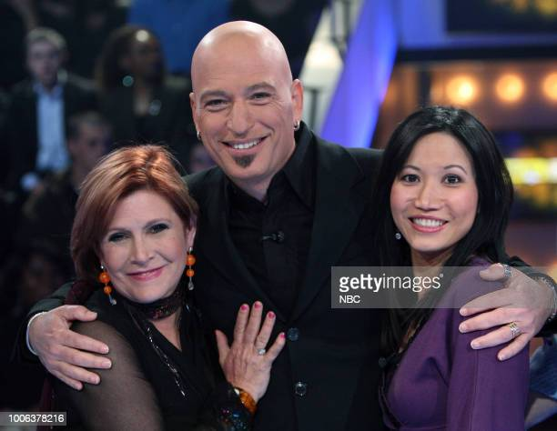 Special Guest Carrie Fisher Host Howie Mandel Contestant Elyse McCrillis