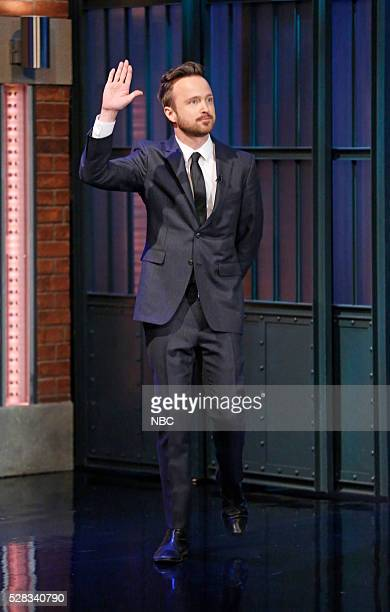 Actor Aaron Paul arrives on May 4 2016