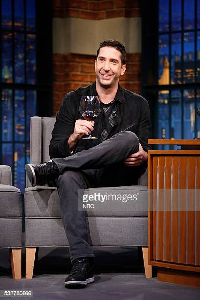 Actor David Schwimmer during an interview on May 18 2016