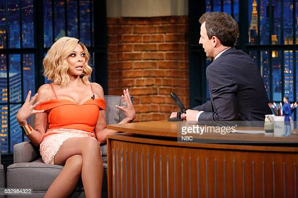 Wendy Williams during an interview with host Seth Meyers on May 19 2016
