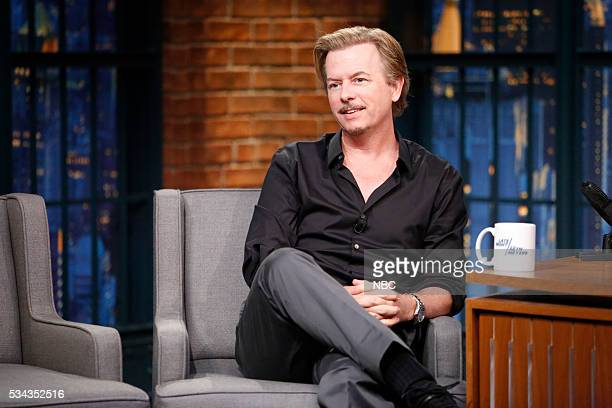 Actor David Spade during an interview on May 25 2016