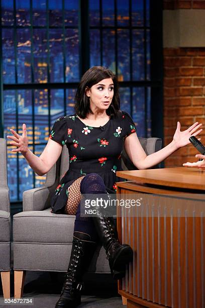 Comedian Sarah Silverman during an interview on May 26 2016